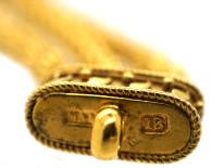 Victorian 18ct Gold Bracelet