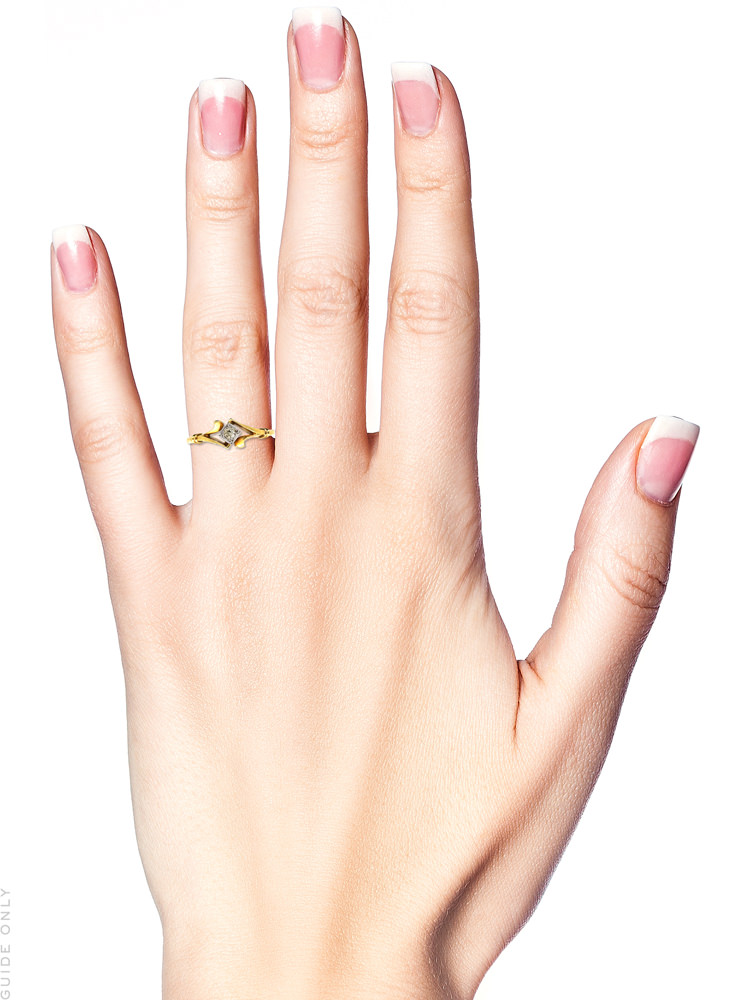 Edwardian 18ct Gold, Platinum & Single Stone Diamond Ring
