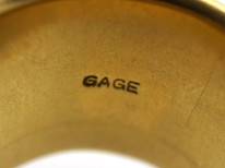 18ct Gold Taurus Ring by Elizabeth Gage in Original Case