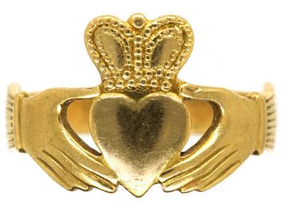 Irish 18ct Gold Claddagh Ring
