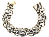 Silver Bracelet by J Lauritzen