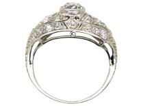 Art Deco Platinum & Diamond Ring