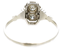 Art Deco 18ct White Gold & Diamond Ring