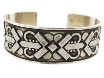 Silver Bangle by Harald Nielsen for Georg Jensen