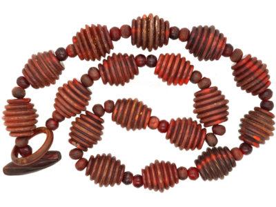 Art Deco Bakelite Bead Necklace
