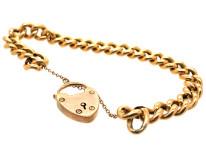 9ct Gold Curb Bracelet