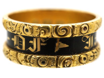 18ct Gold Memorial Ring for Thomas Easter