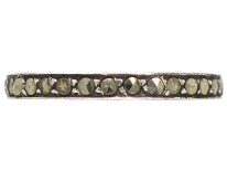 Silver & Marcasite Eternity Ring