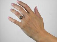 Art Nouveau 15ct Gold & Opal Ring
