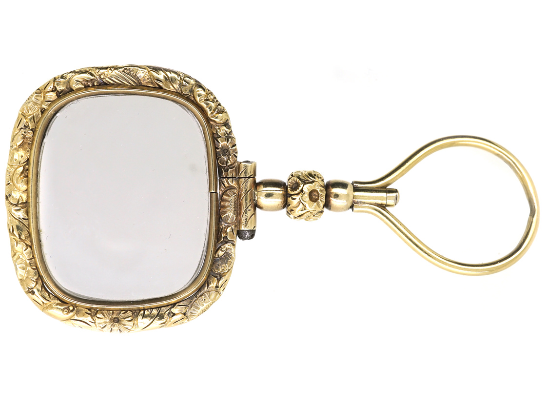 Georgian Gold Cased Quizzing Glass