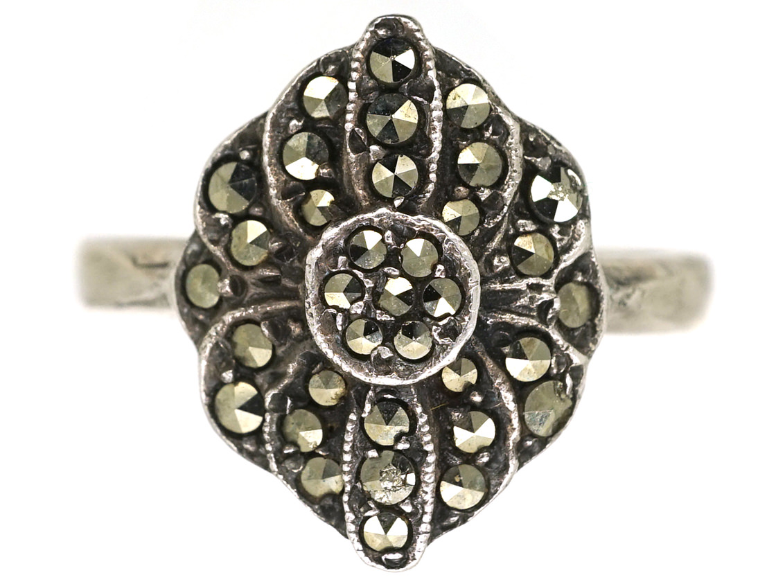 Silver & Marcasite Ring