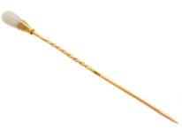 Edwardian 15ct Gold & Opal Tie Pin