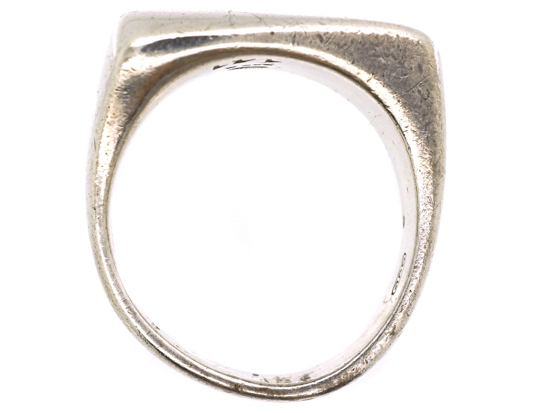 Silver Ring by Henning Koppel for Georg Jensen