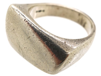 Silver Ring by Henning Koppel for Georg Jensen