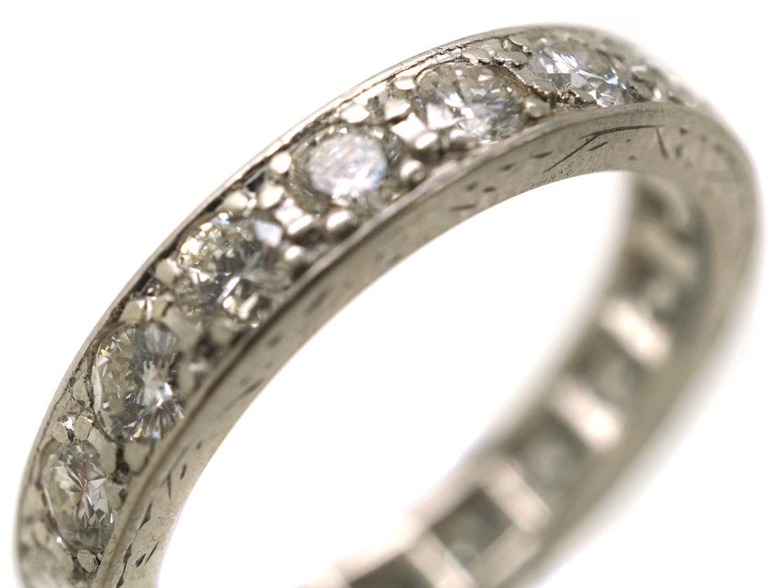 Platinum & Diamond Eternity Ring