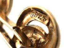 Silver Gilt Cufflinks by Theodor Fahrner