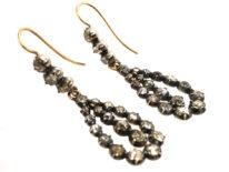 Georgian Diamond Drop Earrings