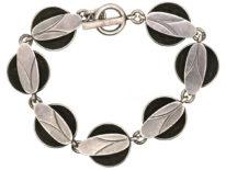 Silver Articulated Bracelet by Dansk Guld Design