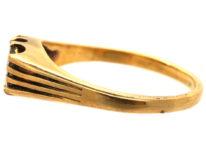 Victorian 18ct Gold, Rectangular Cut Diamond Ring