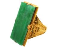 14ct Gold Jade Ring