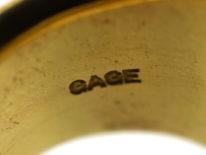 18ct Gold Ring by Elizabeth Gage