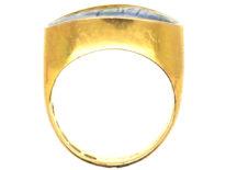 18ct Gold & Enamel Ring by Alexander Tillander Workshop