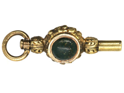 Regency Gold Cased Watch Key