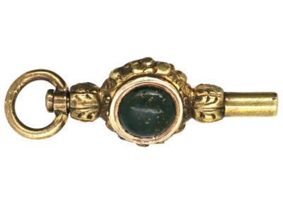 Regency Gold Cased Watch Key