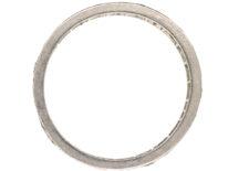 Art Deco Platinum & Diamond Set Eternity Ring