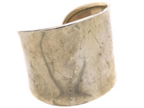 Silver Wide Cuff Bangle
