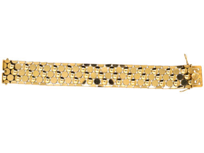 18ct Gold Articulated Bracelet