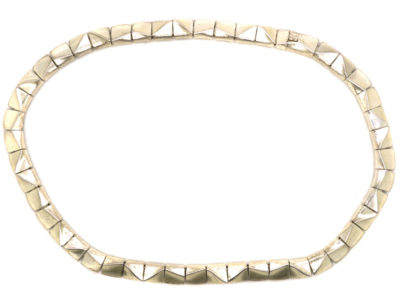 Silver Collar by Bjorn Weckstrom for Lapponia