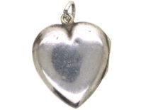 Siver Heart Shaped Locket