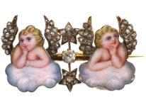 Victorian Enamel & Diamond