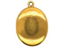 Victorian 18ct Gold Oval Locket