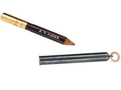 Victorian 9ct Gold & Gunmetal Pencil