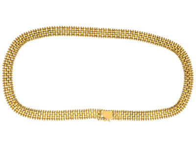 Victorian 15ct Gold Collar
