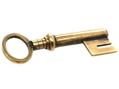 Victorian 15ct Gold Watch Key