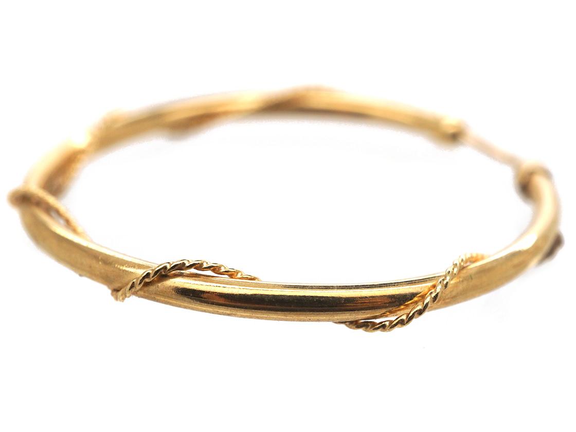 9ct Gold Hoop Earrings