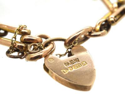 Edwardian 9ct Gold & Blister Pearl Arts & Crafts Bracelet