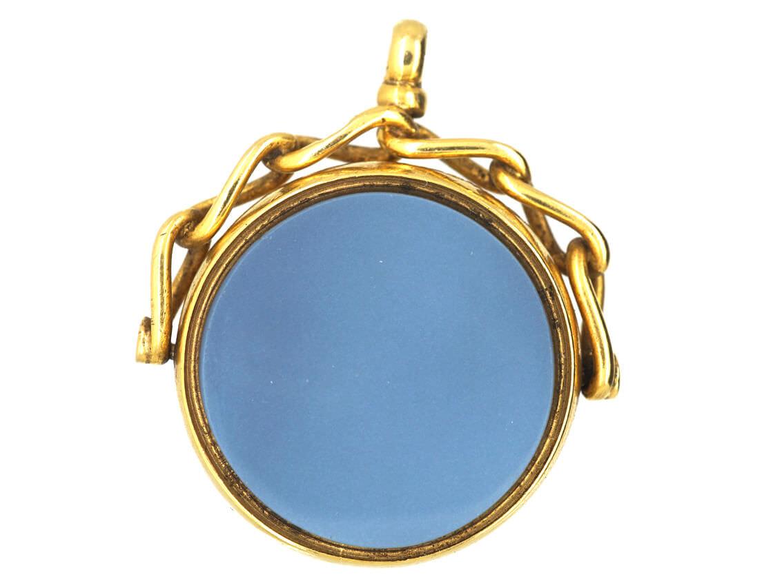 Victorian 18ct Gold Swivel Seal