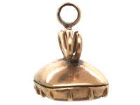 Georgian Small Gold Seal with Carnelian Base