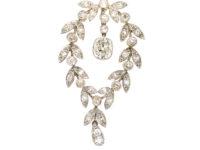 Edwardian Platinum & Diamond Festoon Necklace