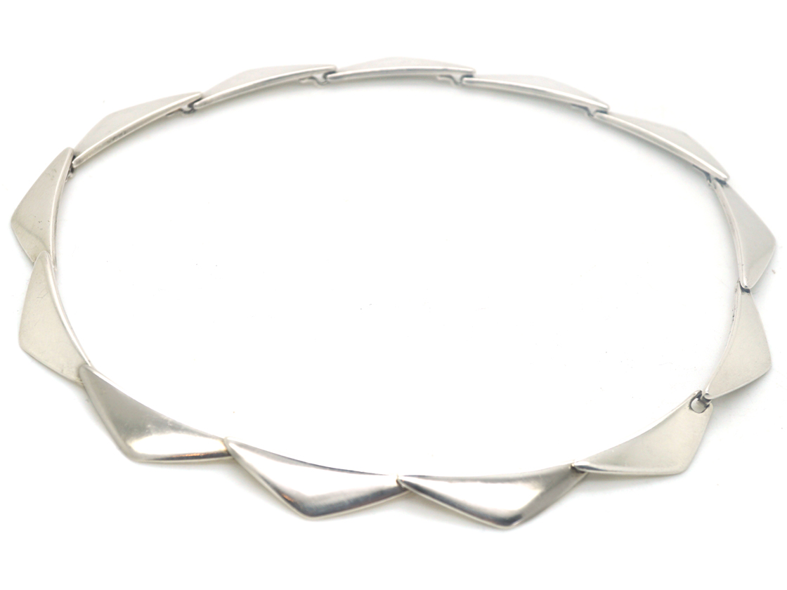 Silver Necklace by Hans Hansen Georg & Retailed by Georg Jensen