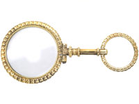 Victorian Gold Cased Quizzing Glass