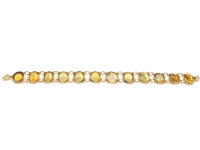 Victorian Gold & Citrine Bracelet