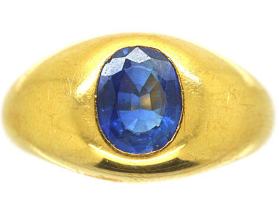 14ct Gold & Sapphire Ring