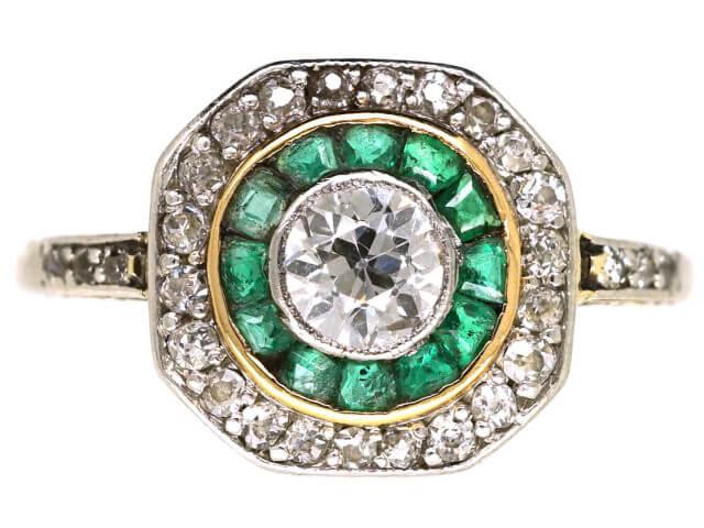 Target engagement rings