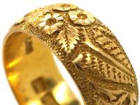 Victorian 18ct Gold Wedding Band
