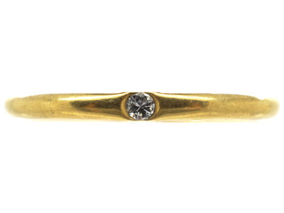 18ct Gold & Diamond Wedding Ring